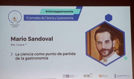 Congreso de Ciencia y Gastronomía