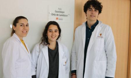 El laboratorio de química, dedicado a Guadalupe Ortiz de Landázuri